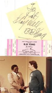 Me and B.B. King at the Austin Opry House