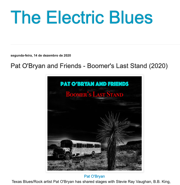 Electric Guitar Blues Review